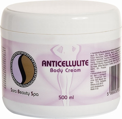 Anticellulite body cream