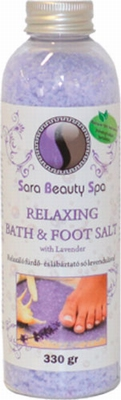 Relaxing Bath&Foot Salt with Lavender